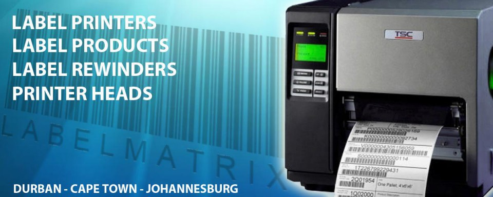 Labels label printers thermal printer heads and barcode printers label matrix south africa